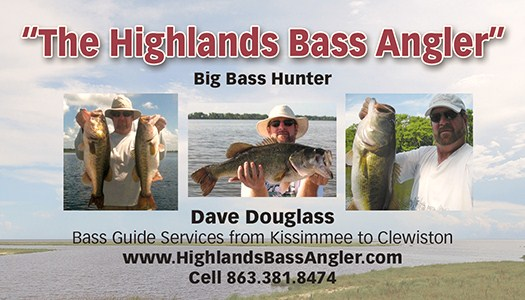 Highlands Bass Angler Business Card back