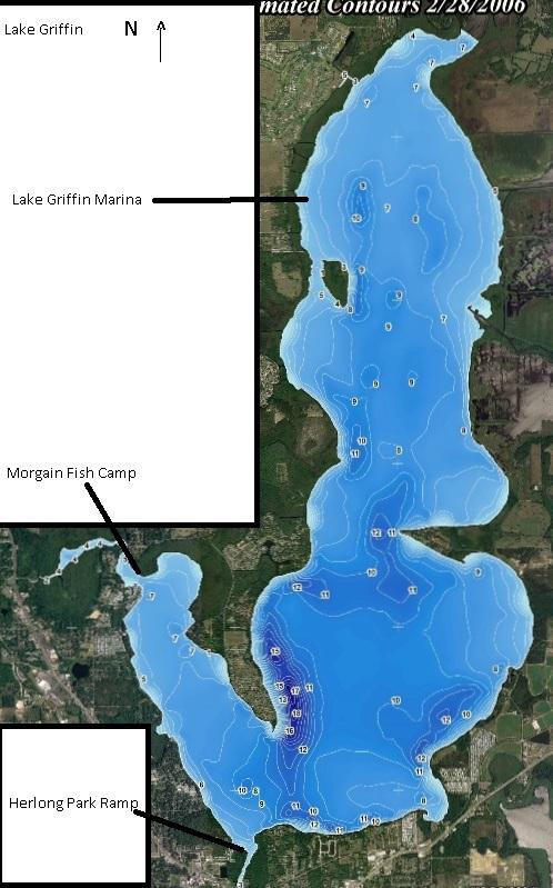 lake tarpon fishing map Area Fishing Maps Talltalesbait lake tarpon fishing map